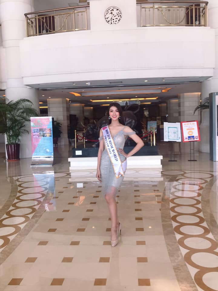 tuong vy dai dien viet nam di thi miss tourism world 2019 hinh anh 2