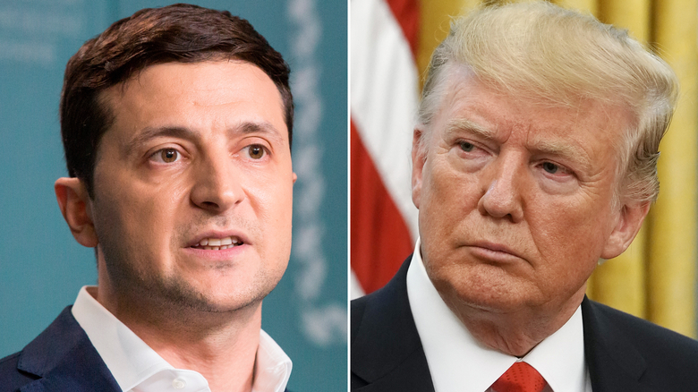 be boi ukraine o my: trump bi to gang gay ap luc voi zelensky hinh anh 1