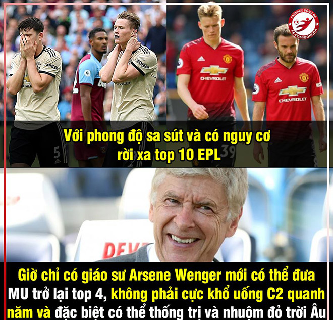 """anh che: hlv wenger muon """"giai cuu"""" mu truoc dai chien voi arsenal hinh anh 2"""
