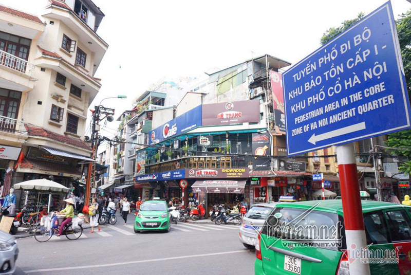 ha noi dinh cam o to, xe may quanh ho guom trong 1 thang hinh anh 1