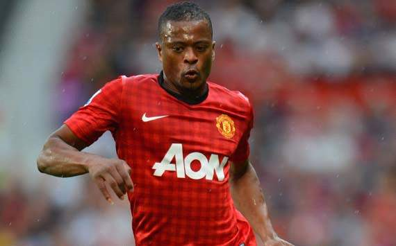 evra nong long cho dai chien voi chelsea hinh anh 1