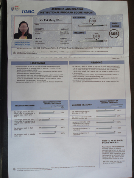 dh luat tp.hcm: 3 truong hop su dung bang toeic gia hinh anh 2