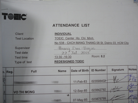 dh luat tp.hcm: 3 truong hop su dung bang toeic gia hinh anh 1