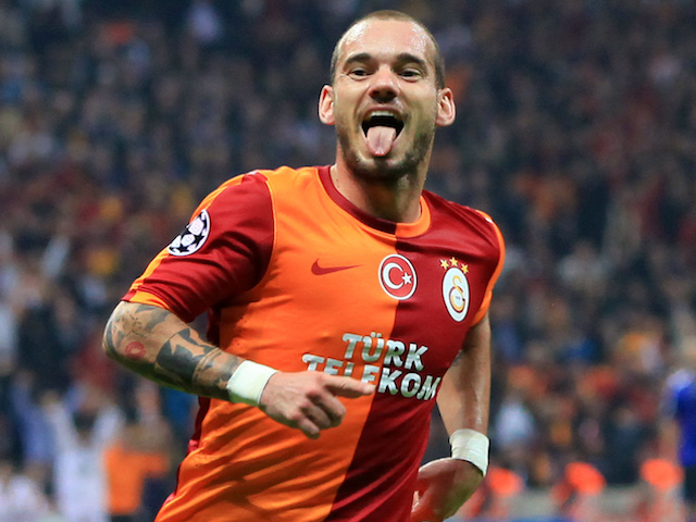 m.u dung chieu doc san wesley sneijder hinh anh 2