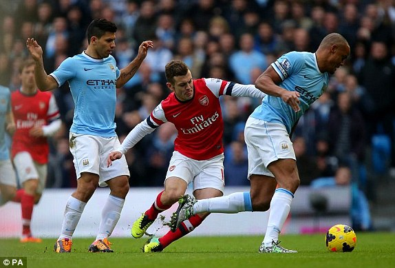 "man city ""huy diet"" arsenal 6-3 hinh anh 2"