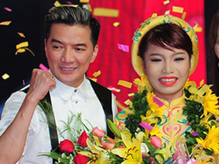 "thang toan tap, mr. dam hoa ""trum quyen luc"" the voice hinh anh 1"