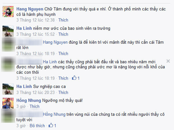 cam dong hinh anh hieu truong dem hom keo ca cho tro ngheo an hinh anh 1