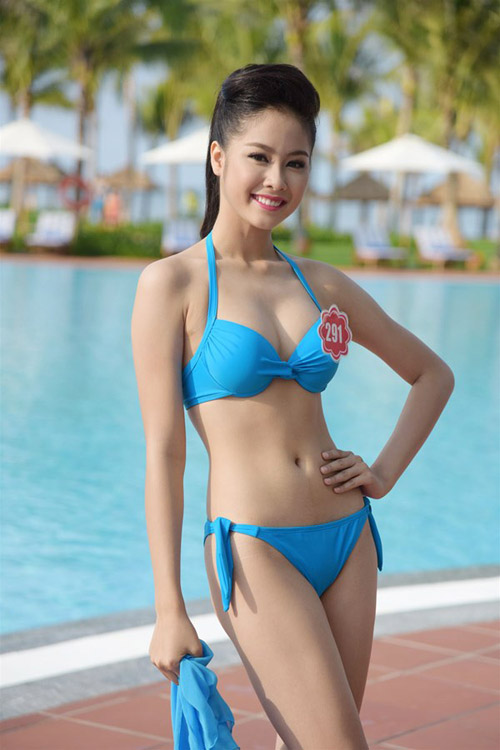 thi sinh hoa hau vn he lo cach giam 5,5 kg/thang hinh anh 6