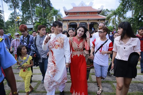 toan canh le cuoi cua thuy tien va cong vinh hinh anh 1