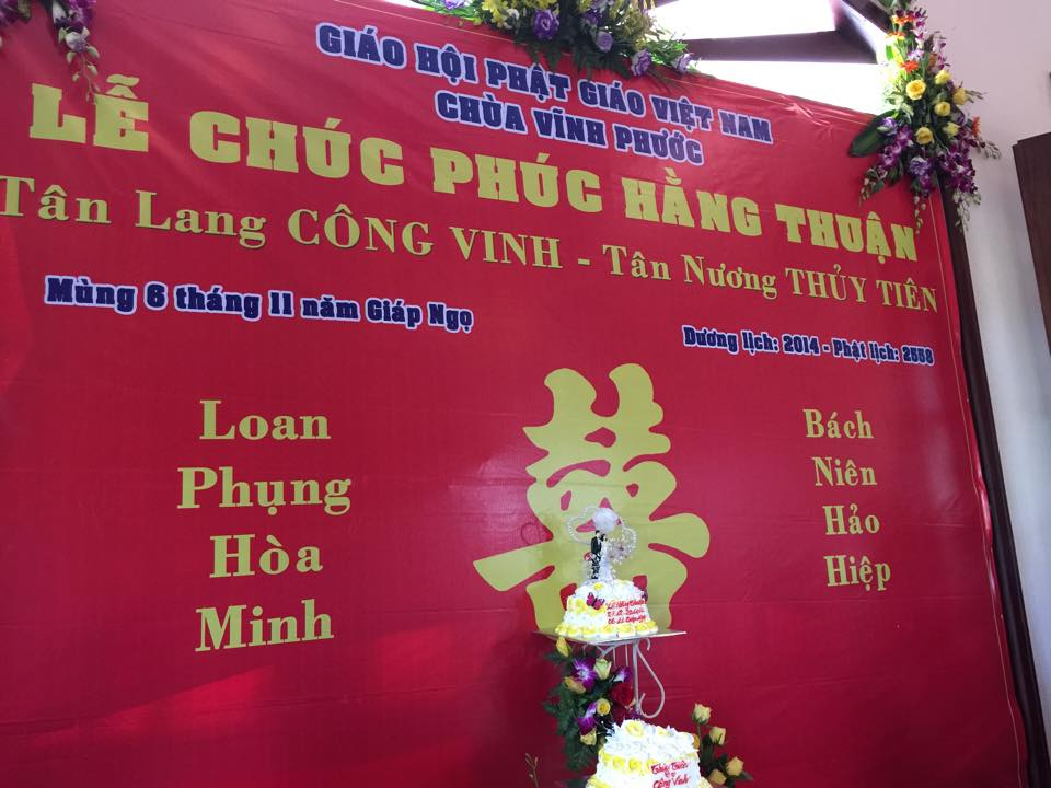 toan canh le cuoi cua thuy tien va cong vinh hinh anh 8