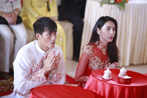 toan canh le cuoi cua thuy tien va cong vinh hinh anh 13