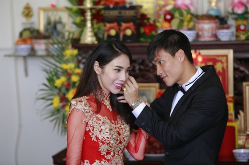 toan canh le cuoi cua thuy tien va cong vinh hinh anh 32