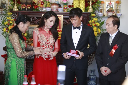toan canh le cuoi cua thuy tien va cong vinh hinh anh 29