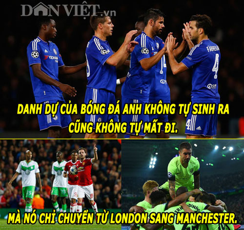 "anh che: ronaldo cuoi nhao messi, ""thanh"" bendtner bi m.u ""nhuom do"" hinh anh 8"