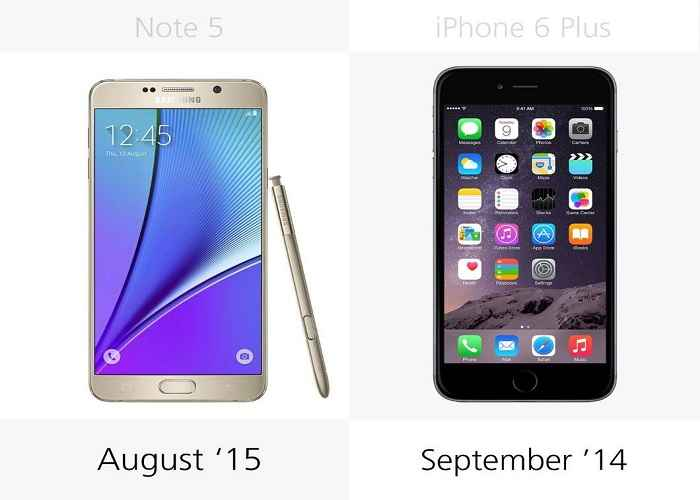 so sanh chi tiet giua galaxy note 5 voi iphone 6 plus hinh anh 26