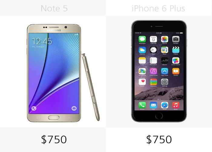 so sanh chi tiet giua galaxy note 5 voi iphone 6 plus hinh anh 27