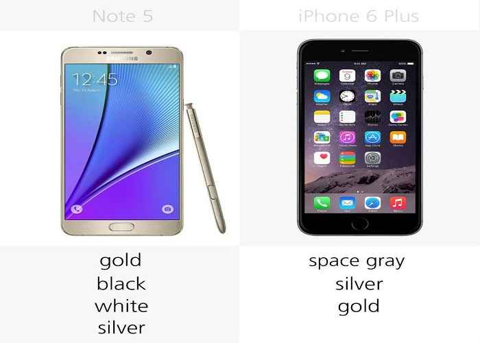 so sanh chi tiet giua galaxy note 5 voi iphone 6 plus hinh anh 5