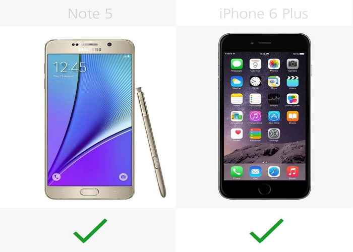 so sanh chi tiet giua galaxy note 5 voi iphone 6 plus hinh anh 13