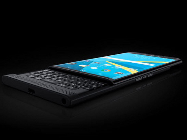 anh thuc te BlackBerry Priv chay Android, quay video 4K