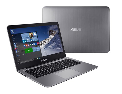 asus tung notebook windows gia re, co cong usb type-c hinh anh 1