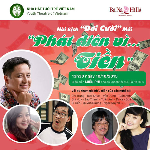 "nghe si chi trung…""phat dien vi tien"" tren dinh ba na hinh anh 1"