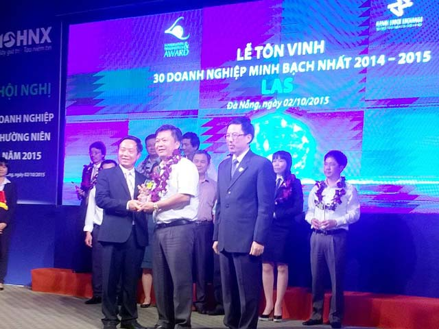 cong ty cp supe phot phat va hoa chat lam thao: lot top 30 doanh nghiep minh bach nhat hnx 2014 - 2015 hinh anh 1