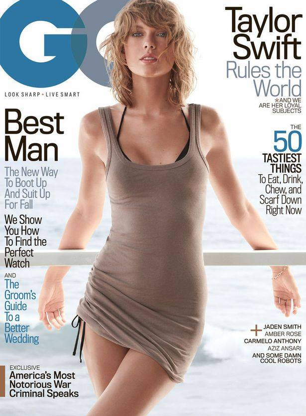 taylor swift noi loan khoe noi y tren tap chi gq hinh anh 1