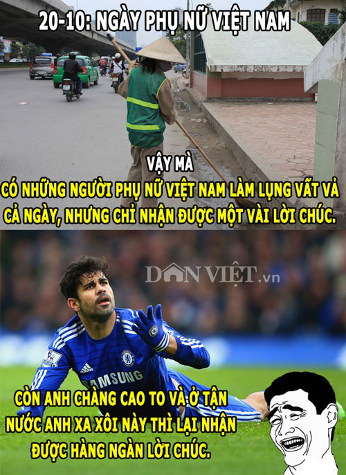 "anh che: arsenal ""thit luoc"" bayern, diego costa la… phu nu hinh anh 10"