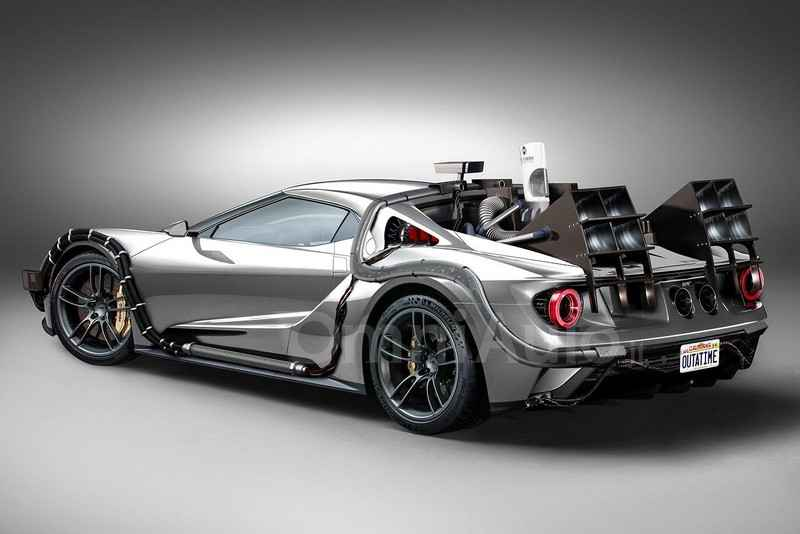 "la mat voi thiet ke ""co may thoi gian"" ford gt concept hinh anh 1"