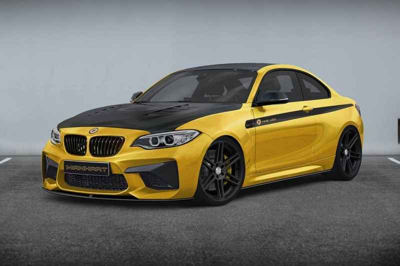 hang do manhart racing se tung bmw m2 phien ban do hinh anh 1