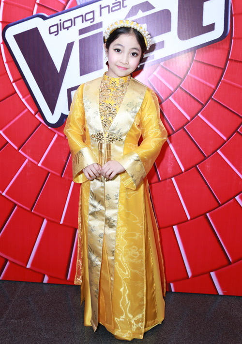 "my tam duoc ""ban trai"" thap tung den the voice kids hinh anh 11"