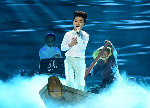 """cong quoc cuoi nhieu sau chung ket the voice kids"" hinh anh 3"