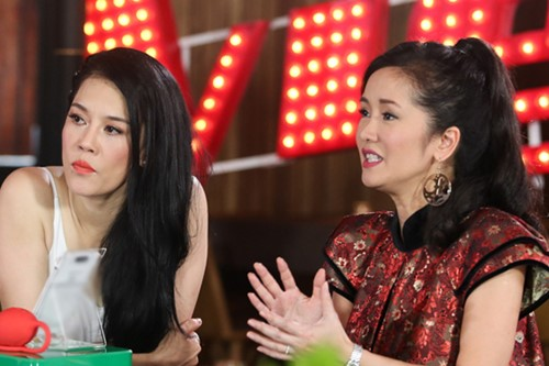 "thu phuong ve nuoc lam show ""khung"" sau on ao the voice hinh anh 2"