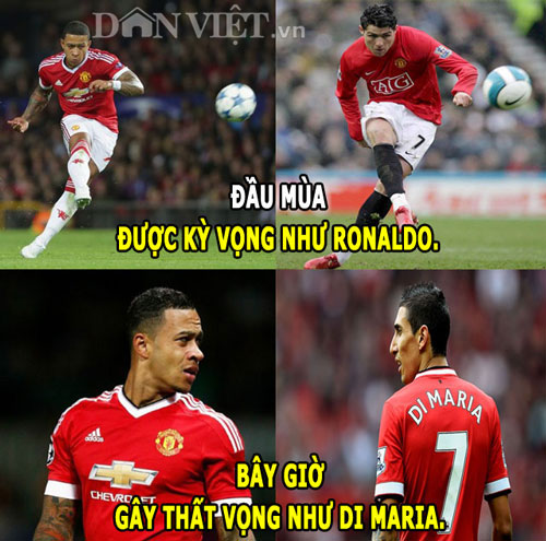 "anh che: messi cuoi nhao ronaldo, fan m.u ""dang"" depay cho real hinh anh 3"