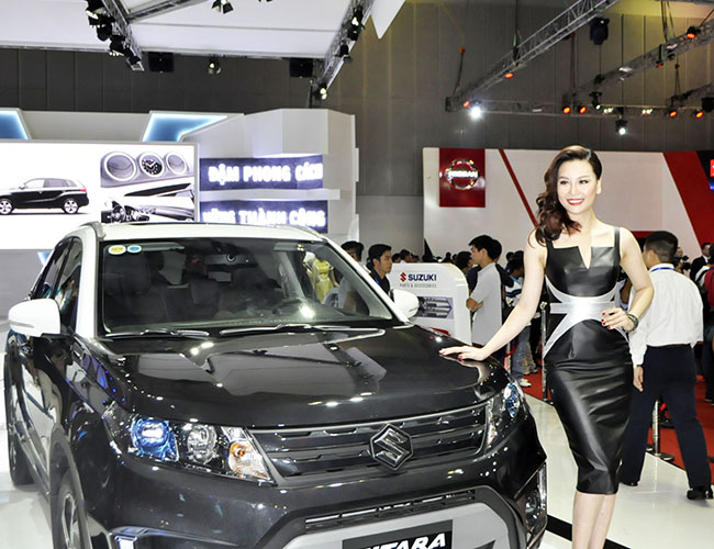trien lam motor show 2015: ky luc 2.500 xe o to duoc dat hang hinh anh 1
