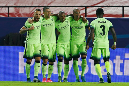 ket qua, bxh champions league: man city, real doat ve vao vong knock-out hinh anh 1