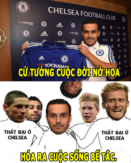 "anh che: young la ""vua an va"", pedro ""be tac"" o chelsea hinh anh 6"