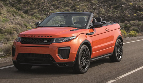 range rover evoque convertible chinh thuc lo dien hinh anh 1