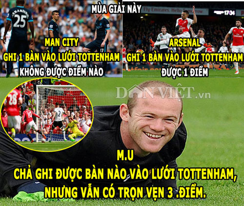 "anh che: van gaal ""bat luc"" voi young, ronaldo khen ngoi messi hinh anh 2"