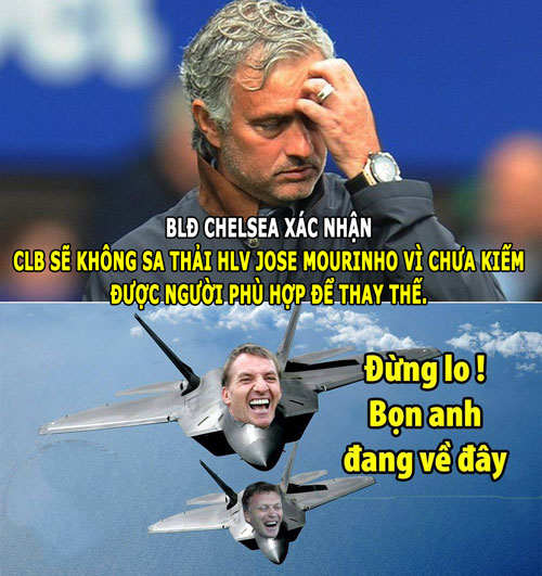 "anh che: mourinho bi moyes ""cuop ghe"", ibrahimovic ""no vang troi"" hinh anh 9"