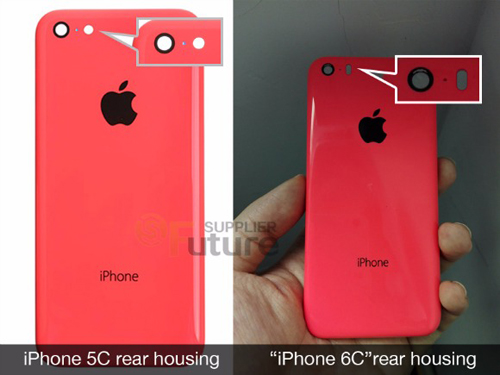 iphone 6c man hinh 4 inch vo nhua lo dien hinh anh 1