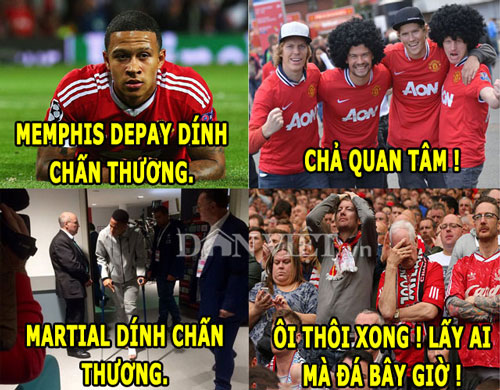 "anh che: el clasico that chat an ninh, fan m.u ""ghe lanh"" depay hinh anh 1"