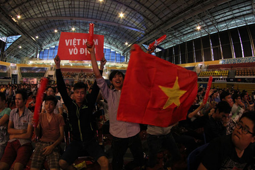 viet nam vo dich giai the thao dien tu quoc te hinh anh 1