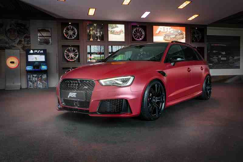 lo chi tiet audi rs3 sportback phien ban do moi cua  abt sportsline hinh anh 1