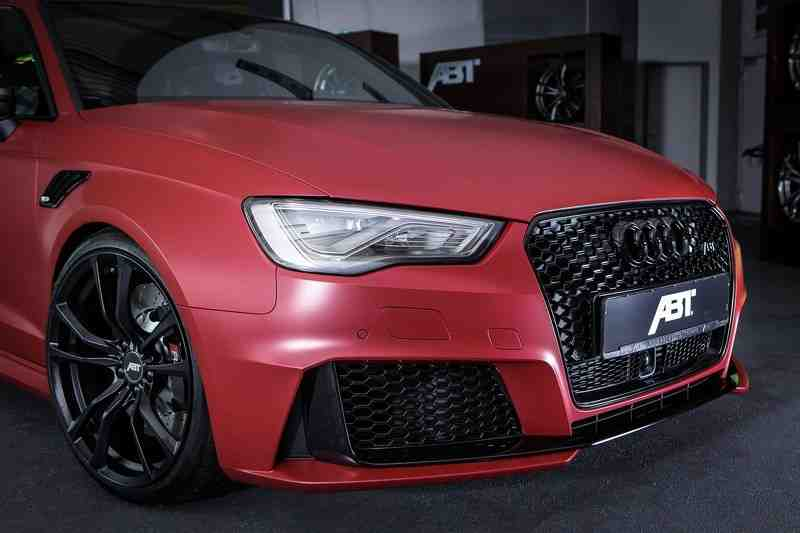lo chi tiet audi rs3 sportback phien ban do moi cua  abt sportsline hinh anh 2
