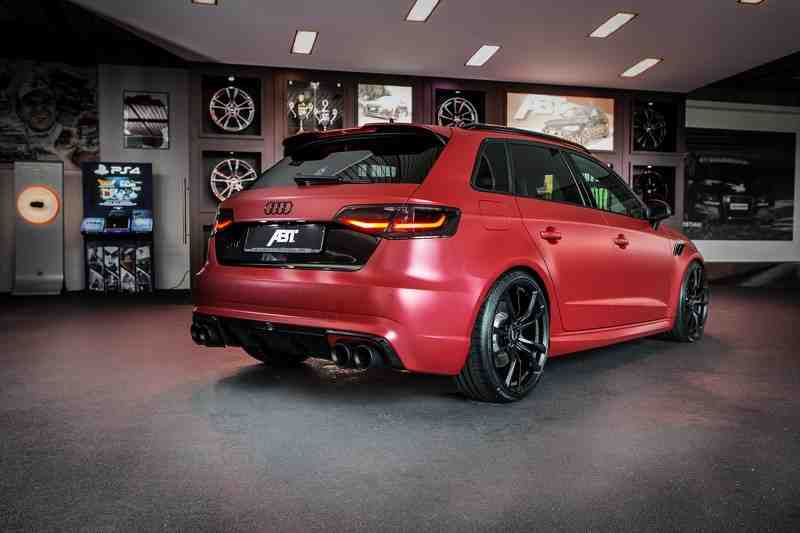lo chi tiet audi rs3 sportback phien ban do moi cua  abt sportsline hinh anh 3