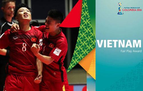 dt futsal viet nam duoc fifa vinh danh hinh anh 1