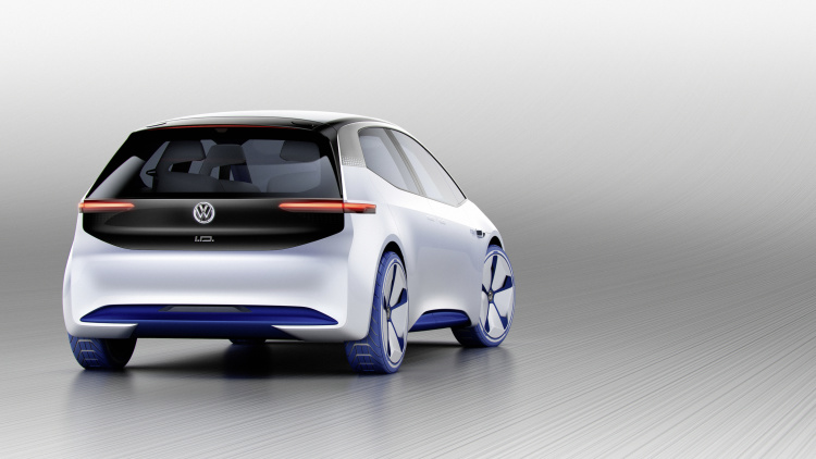 chi tiet ngoai hinh mau xe dien volkswagen i.d. concept moi hinh anh 6