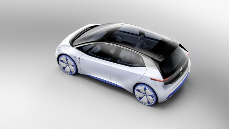 chi tiet ngoai hinh mau xe dien volkswagen i.d. concept moi hinh anh 5
