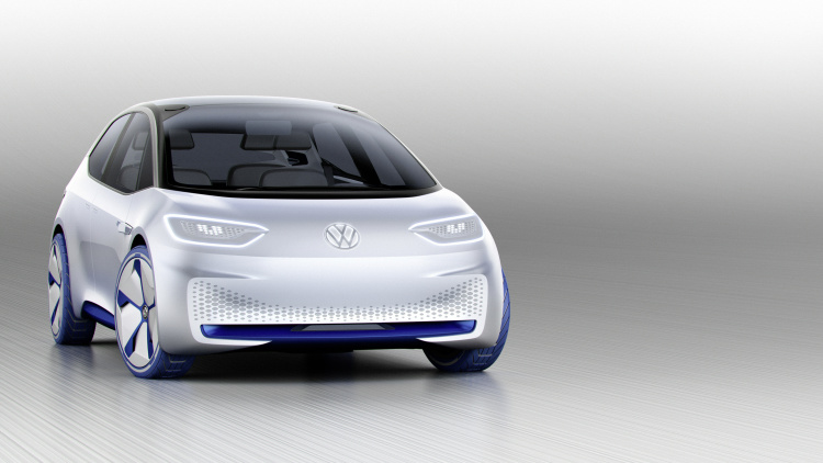 chi tiet ngoai hinh mau xe dien volkswagen i.d. concept moi hinh anh 2